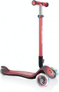 3-Rad-Kinder-Roller Elite 37 x 68,5 cm Aluminium rot