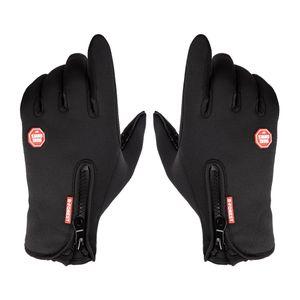 1 Paar Winter-Thermohandschuhe M Schwarz Handschuhe