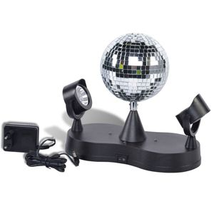 Party Fun Lights Discokugel mit 2 Strahlern