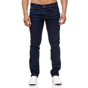 Six Jeans Herren Übergrößen Thermo Jeans Hose Navy 52