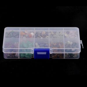 1 Box Sortiert Spacer Perlen zum Auffädeln Basteln Schmucksteine Edelsteine Steinperlen Bastelperlen Zwischenperlen mit Aufbewahrungsbox