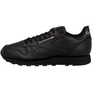 Reebok Classic Leather Sneaker Schwarz 2267, Größenauswahl:43