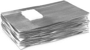 NeoNail 4458-1 Foil Nail Wraps - 50 Stk Entfernen von UV Nagellack