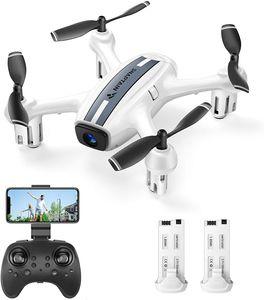 SNAPTAIN SP360 Drohne mit HD 720P WiFi FPV Kamera, Sprach- und Gestensteuerung, G-Sensor, Flugbahn, Headless-Modus, 3D Flips, Höhehalten, für Anfänger und Kinder