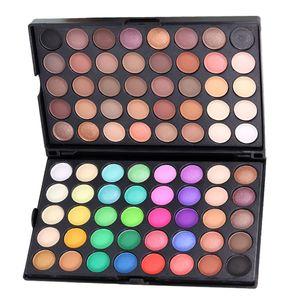 80 Farben Eye Shadow Lidschatten Palette - Schimmer Matt Smoky Effekt
