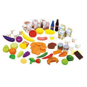Playgo My Food Collection 61-teiliges Lebensmittel-Spielzeugset 3124