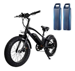 20 zoll Elektrofahrrad E-bike Fatbike mit 2 battrie (2x10Ah) 960Wh 750W 45km/h, Bis 150kg 40-70km