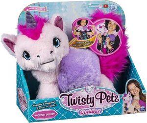 Twisty Petz 6054696 - Cuddlez, verwandlungsfähiges Plüschtier, Einhorn, Snowpuff zum Sammeln für Kinder ab 4 Jahren