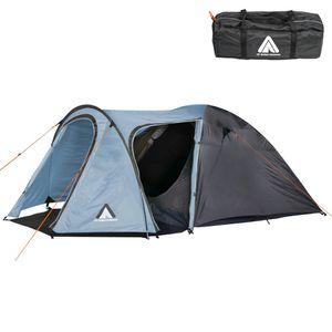 10T Jumbuck 4 Arona - 4 Personen Kuppelzelt, Campingzelt mit 2 Eingängen, wasserdichtes Trekking-Zelt mit 5000mm,