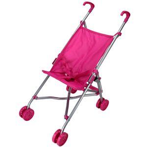 Speelgoed Kinder Puppenwagen Rosa Puppen Buggy Sportwagen Kinderwagen faltbar