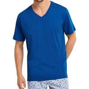 Schiesser Mix & Relax Schlafanzug Shirt kurzarm Schlafanzüge zum selber mixen, Locker geschnitten, Angenehm auf der Haut
