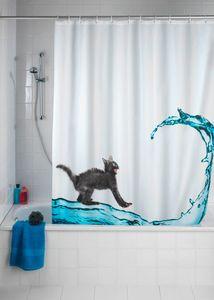 Anti-Schimmel Duschvorhang Cat, 180 x 200 cm