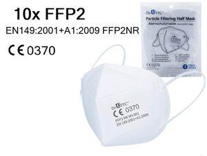 DEUTSCHER HÄNDLER  FFP2 Atemschutzmaske ,  , Mundschutz Maske Anzahl:10