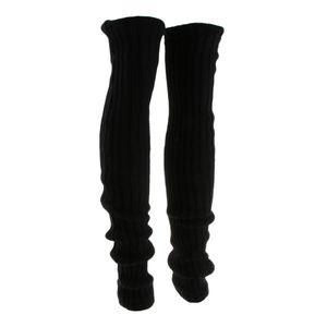 Damen gestrickt Beinlinge Bein Stulpen warme Beinstulpen Beinwärmer Boot-Abdeckung Farbe Kein Loch