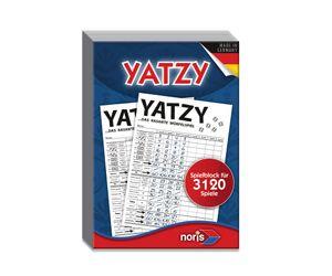 Noris Spiele Yatzy Spielblock; 606194305