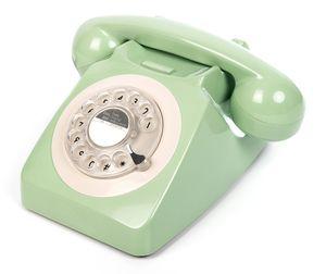 GPO Retro 746, Analoges Telefon, Kabelgebundenes Mobilteil, Mintfarbe