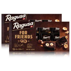 Ragusa for Friends Noir - Pralinen aus dunkler Schokolade 132g (2er Pack)
