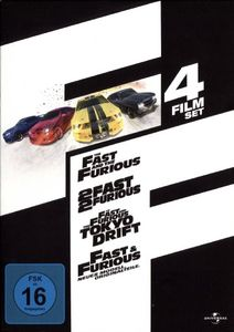 The Fast and the Furious 1-4  [4 DVDs]