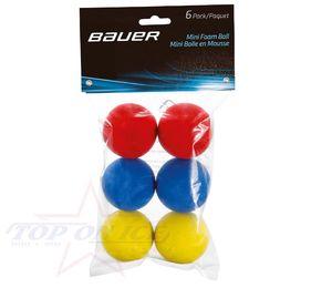 BAUER Mini Schaum Ball - 6er Pack, Größe:Unisize