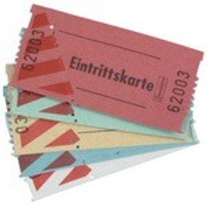 AVERY Zweckform Bon Rollen Wertmarken 57 x 30 mm weiß 2 x 1.000 Stück