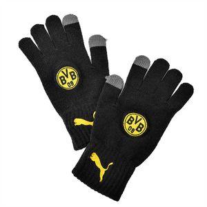 PUMA BVB knitted Feldspieler-Handschuhe Schwarz, Größe:M