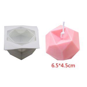Multilaterale Würfel DIY Kerzenform Silikonform Schokoladenkuchenform Multilaterale Geometrie