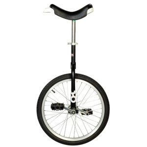 QU-AX Only One Einrad schwarz Laufradgröße 20