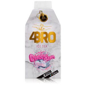 4BRO Ice Tea Eistee Bubble Gum 500ml - Erfrischungsgetränk (1er Pack)