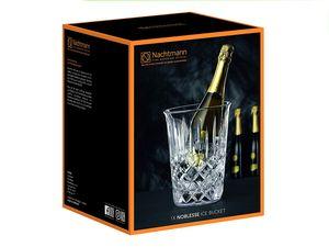 Nachtmann Vorteilsset 4 x  1 Glas/Stck Weinkühler 617/176 Noblesse  102385 und Gratis 1 x Trinitae Körperpflegeprodukt