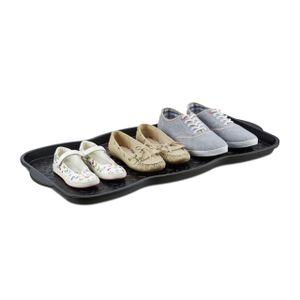 relaxdays Schuhabtropfschale groß für 3 Paar
