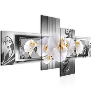 Blumen Orchidee BILD :200x100 cm − FOTOGRAFIE AUF VLIES LEINWANDBILD XXL DEKORATION WANDBILDER MODERN KUNSTDRUCK MEHRTEILIG 206241c
