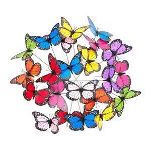 relaxdays Gartendeko Schmetterling
