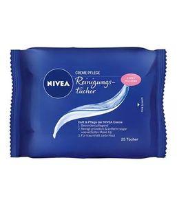 Nivea Face Creme Pflege Reinigungstücher mit Eucerit 25 Stück