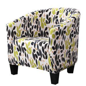 Club Stuhlbezug, Stretch Elasthan Abnehmbare bedruckte Muster Sesselbezüge