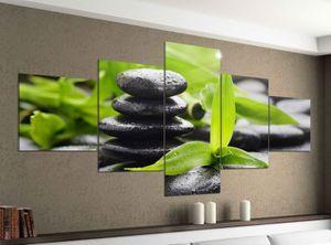 Acrylglasbilder 5 Teilig 200x100cm Wellness Stein Yoga Bambus Massage Druck Acrylbild Acryl Acrylglas Bilder Bild 14F576