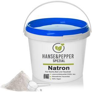 5kg Natron Pulver Backpulver E500 Reine Soda Natriumbicarbonat 5kg Eimer - Pro Serie