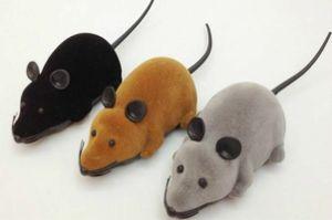 Elektronische Ratte Maus Spielzeug mit Fernbedienung für Katzen Hunde Haustier