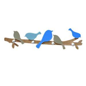 Vogel Wand Kleiderhaken Holzhaken Garderobe Haken Aufhänger