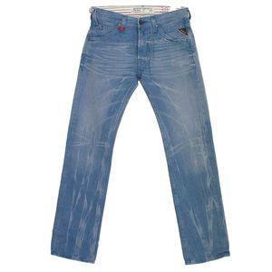 18455 Replay, Tillbor Soccer Fit,  Herren Jeans Hose, Denim, ocean blue used, W 30 L 34