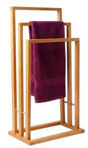 Handtuchhalter Bambus - 40x24.5x82cm - Towel Rack