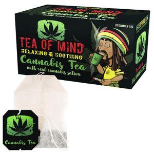 """Euphoria """"Cannabis"""" Tea of Mind 20 Beutel (30g) Hanf-Tee Teebeutel"""