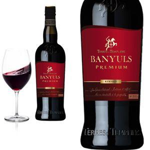 3er Karton 2018 Banyuls Rimage Prémium süß von Terres des Templiers - Rotwein