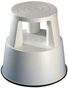 WEDO Rollhocker aus Kunststoff lichtgrau / RAL 7035 Tragkraft: 150 kg