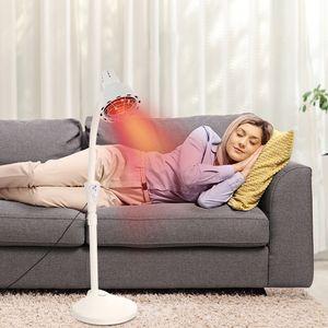 275W Einkopf Infrarotlampe Wärmelampe Massage Behandlungslampe Rotlicht Strahler Infrarot-Massagelampe