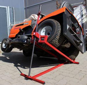 Rasentraktorheber 400kg 24mm Gewindestange Aufsitzmäher Hebevorrichtung Heber