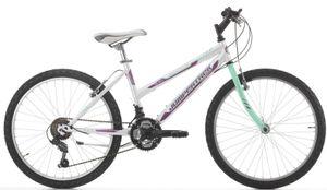 24 Zoll Mountainbike Cinzia Snake Girl 18 Gänge Weiß