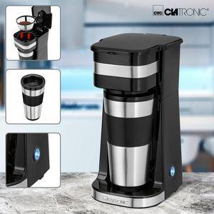 Clatronic Tassen-Kaffee-Automat mit 400 ml Thermobecher KA 3733