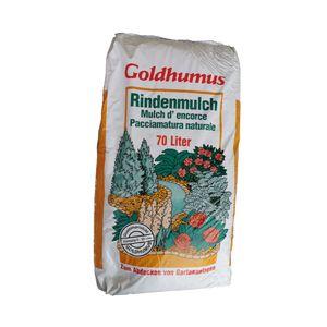 Goldhumus Rindenmulch 0-20 70 Liter Hülskamp