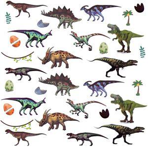 Oblique Unique 32 Dino Sticker Dinosaurier Aufkleber Kinder Geburtstag Spielen Basteln