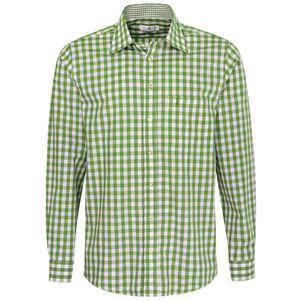 Trachtenhemd Wolfgang Regular Fit in Grün von Almsach, Größe:XXL, Farbe:Grün